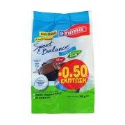 ΓΙΩΤΗΣ Sweet & Balance Σοκολατάκια με Στέβια Χωρίς γλουτένη 240gr