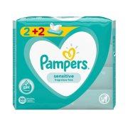 PAMPERS Μωρομάντηλα Sensitive 2x52τεμ +2 Δώρο