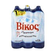ΒΙΚΟΣ Νερό Φυσικό Μεταλλικό 5x1,5lt +1 Δώρο