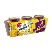ΔΕΛΤΑ Smart Επιδόρπιο Γιαουρτιού Μπανάνα Παιδικό 2x145gr +1 Δώρο