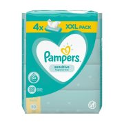 PAMPERS Μωρομάντηλα Sensitive 4x80τεμ
