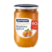 SPIN SPAN Μαρμελάδα Βερίκοκο Χωρίς γλουτένη 380gr +60% Δώρο