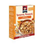 QUAKER Τραγανές Μπουκιές Δημητριακών με Βρώμη & Φρούτα 450gr