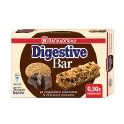 ΠΑΠΑΔΟΠΟΥΛΟΥ Digestive Bar Μπάρες Δημητριακών με Κομματάκια Σοκολάτας Γάλακτος 5x28gr