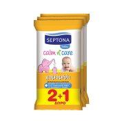 SEPTONA Μωρομάντηλα Χαμομήλι 2x12τεμ +1 Δώρο