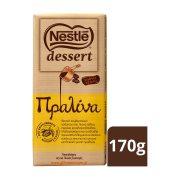 NESTLE Dessert Κουβερτούρα Γάλακτος με Πραλίνα 170gr