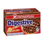 ΠΑΠΑΔΟΠΟΥΛΟΥ Digestive Μπισκότα με Επικάλυψη Σοκολάτα Γάλακτος 200gr