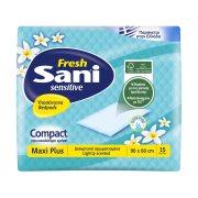 SANI Sensitive Υποσέντονα Maxi Plus Fresh 90x60cm 15τεμ