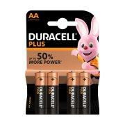 DURACELL Plus Αλκαλικές Μπαταρίες AA 4τεμ