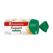 ΠΑΠΑΔΟΠΟΥΛΟΥ Χωριανό Ψωμί Τοστ Ολικής Άλεσης με Σίκαλη 500gr