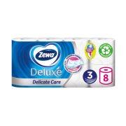 ZEWA Deluxe Χαρτί Υγείας Delicate Care 3 Φύλλων 8τεμ 728gr
