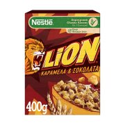 NESTLE Lion Δημητριακά με Σοκολάτα & Καραμέλα 400gr