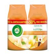 AIRWICK Essential Oils Freshmatic Max Αρωματικό Χώρου Αυτόματο Σπρέι  Βανίλια & Ορχιδέα Ανταλλακτικό 2x250ml το Δεύτερο Μισή Τιμή