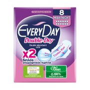 EVERYDAY Double Dry Σερβιέτες Ultra Plus Maxi Night 8τεμ