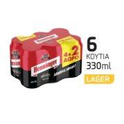 HENNINGER Μπίρα Lager 4x330ml +2 Δώρο