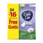 EVERYDAY All Cotton Σερβιετάκια Large 34τεμ +16 Δώρο