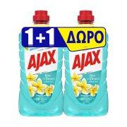 AJAX Γιορτή Λουλουδιών Καθαριστικό Υγρό Γενικής ΧρήσηςΛουλούδια Λίμνης 1lt+1 Δώρο