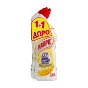 HARPIC Καθαριστικό Υγρό Τουαλέτας Ενεργό Χλώριο 750ml +1 Δώρο