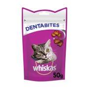 WHISKAS Dentabites Σνακ Γάτας με Κοτόπουλο 50gr