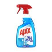 AJAX Καθαριστικό Τζαμιών Triple Action Αντλία 750ml