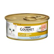 GOURMET Gold Υγρή Τροφή Γάτας Ψάρια Ωκεανού Μους 85gr