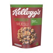 KELLOGG'S Crunchy Muesli Τραγανές Μπουκιές Δημητριακών με Βρώμη & Φρούτα 500gr