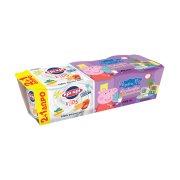 ΚΡΙ ΚΡΙ Kids Peppa Επιδόρπιο Γιαουρτιού Φράουλα Μπισκότο Παιδικό 2x140gr +1 Δώρο