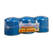 CAMPINGAZ Φιαλίδιο Υγραερίου C206 Gls 2x190gr + 1 Δώρο