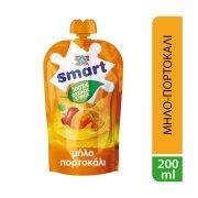 ΔΕΛΤΑ Smart Φυσικός Χυμός Μήλο Πορτοκάλι 200ml
