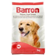 BARRON Ξηρά Τροφή Σκύλου Μοσχάρι Δημητριακά Λαχανικά 3kg