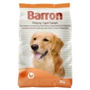 BARRON Ξηρά Τροφή Σκύλου Κοτόπουλο Δημητριακά Λαχανικά 3kg