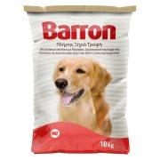 BARRON Ξηρά Τροφή Σκύλου Μοσχάρι Δημητριακά Λαχανικά 10kg