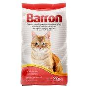 BARRON Ξηρά Τροφή για Ενήλικες Γάτες με Κοτόπουλο Μοσχάρι Δημητριακά 2kg