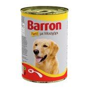 BARRON Υγρή Τροφή Σκύλου Μοσχάρι Πατέ 400gr