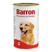 BARRON Υγρή Τροφή Σκύλου Μοσχάρι Μπουκιές 1,23kg