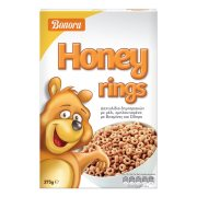 BONORA Δημητριακά Honey Rings 375gr