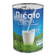 ΠΙΕΣΤΟ Γάλα Εβαπορέ Πλήρες 7,5% Λιπαρά 410gr