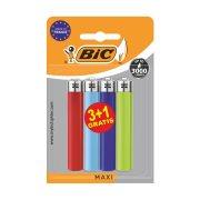 BIC Αναπτήρες Maxi 3τεμ + 1 Δώρο