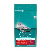 PURINA One Ξηρά Τροφή για Στειρωμένες Γάτες με Βοδινό & Σιτάρι 1,5kg