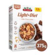 MILLHOUSE Light & Diet Δημητριακά με Σοκολάτα Γάλακτος 375gr
