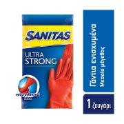 SANITAS Γάντια Ενισχυμένα Medium