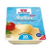 Ημίσκληρο Τυρί ΔΩΔΩΝΗ του Tοστ Light σε φέτες 200gr
