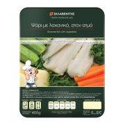 Ψάρι με Λαχανικά στον Ατμό ΣΚΛΑΒΕΝΙΤΗΣ 400gr
