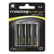 MASTER ENERGY Αλκαλικές Μπαταρίες AA 4τεμ