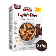 MILLHOUSE Light & Diet Δημητριακά με Μαύρη Σοκολάτα 375gr