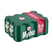 MYTHOS Μπίρα Lager 8x330ml +4 Δώρο