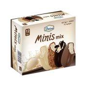 DESINO Minis Mix Παγωτό Ξυλάκι 12τεμ 428gr (600ml)