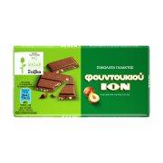ΙΟΝ Σοκολάτα με Φουντούκι με Stevia Χωρίς γλουτένη 60gr