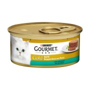 GOURMET Gold Υγρή Τροφή Γάτας Κουνέλι Πατέ 85gr
