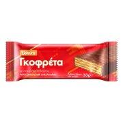 BONORA Γκοφρέτα με Σοκολάτα Γάλακτος 33gr